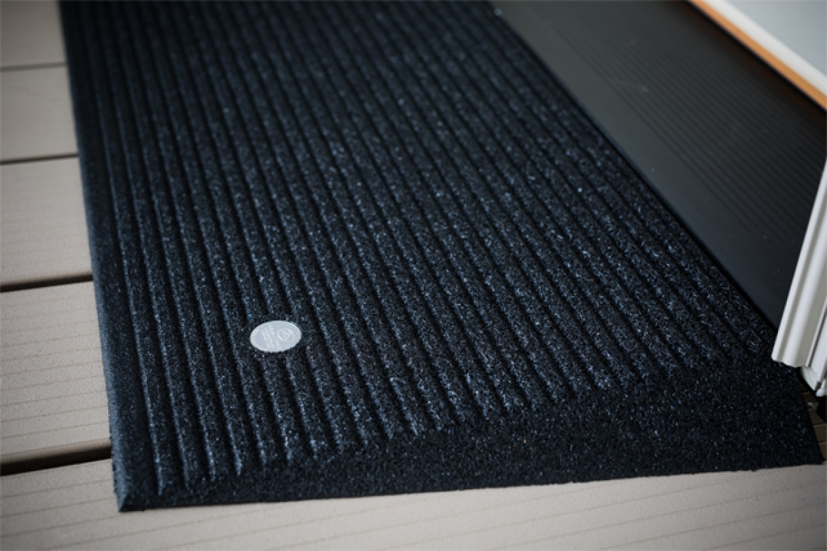 "Dog Ramp For Truck >> EZ Access 2 1/2"" Rubber Threshold Ramp"